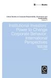 Jacket Image For: Institutional Investors' Power to Change Corporate Behavior