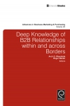 Jacket Image For: Deep Knowledge of B2B Relationships Within and Across Borders