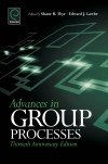 Jacket Image For: Advances in Group Processes
