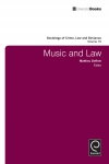 Jacket Image For: Music and Law