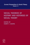 Jacket Image For: Social Theories of History and Histories of Social Theory