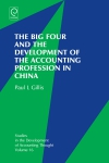 Jacket Image For: The Big Four and the Development of the Accounting Profession in China
