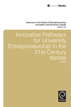 Jacket Image For: Innovative Pathways for University Entrepreneurship in the 21st Century