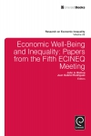 Jacket Image For: Economic Well-Being and Inequality