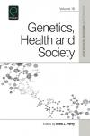 Jacket Image For: Genetics, Health, and Society