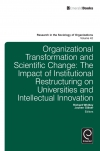 Jacket Image For: Organisational Transformation and Scientific Change