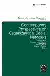 Jacket Image For: Contemporary Perspectives on Organizational Social Networks