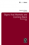 Jacket Image For: Signs that Markets are Coming Back