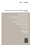 Jacket Image For: Academic Entrepreneurship