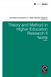 Jacket Image For: Theory and Method in Higher Education Research II