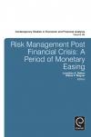 Jacket Image For: Risk Management Post Financial Crisis
