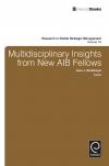 Jacket Image For: Multidisciplinary Insights from New AIB Fellows