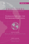 Jacket Image For: Globalization and the Environment of China