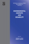 Jacket Image For: Environmental Contexts and Disability