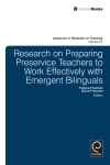 Jacket Image For: Research on Preparing Preservice Teachers to Work Effectively with Emergent Bilinguals