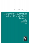 Jacket Image For: Corporate Governance in the US and Global Settings