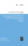 Jacket Image For: Sociological Studies of Child Development