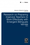 Jacket Image For: Research on Preparing Inservice Teachers to Work Effectively with Emergent Bilinguals