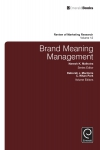 Jacket Image For: Brand Meaning Management