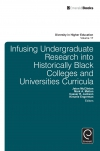 Jacket Image For: Infusing Undergraduate Research into Historically Black Colleges and Universities Curricula