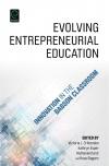 Jacket Image For: Evolving Entrepreneurial Education