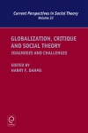 Jacket Image For: Globalization, Critique and Social Theory