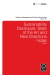 Jacket Image For: Sustainability Disclosure