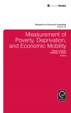 Jacket Image For: Measurement of Poverty, Deprivation, and Social Exclusion
