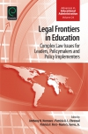 Jacket Image For: Legal Frontiers in Education