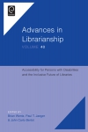 Jacket Image For: Accessibility for Persons with Disabilities and the Inclusive Future of Libraries