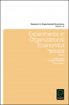 Jacket Image For: Experiments in Organizational Economics