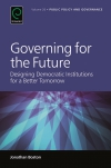 Jacket Image For: Governing for the Future
