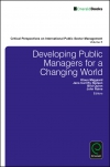 Jacket Image For: Developing Public Managers for a Changing World