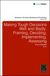 Jacket Image For: Making Tough Decisions Well and Badly