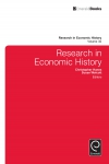 Jacket Image For: Research in Economic History