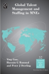 Jacket Image For: Global Talent Management and Staffing in MNEs