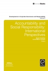 Jacket Image For: Accountability and Social Responsibility