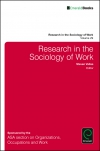 Jacket Image For: Research in the Sociology of Work