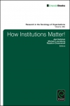 Jacket Image For: How Institutions Matter!