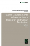 Jacket Image For: Recent Developments in Neuroscience Research on Human Motivation