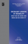 Jacket Image For: Sociology Looking at Disability