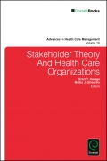Jacket Image For: Stakeholder Theory And Health Care Organizations