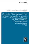 Jacket Image For: Climate Change and the 2030 Corporate Agenda for Sustainable Development