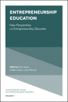 Jacket Image For: Entrepreneurship Education