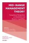 Jacket Image For: Mid-Range Management Theory