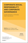 Jacket Image For: Corporate Social Responsibility and Corporate Governance