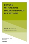 Jacket Image For: Return of Marxian Macro-dynamics in East Asia