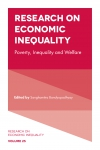 Jacket Image For: Research on Economic Inequality