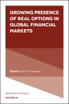 Jacket Image For: Growing Presence of Real Options in Global Financial Markets