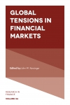 Jacket Image For: Global Tensions in Financial Markets